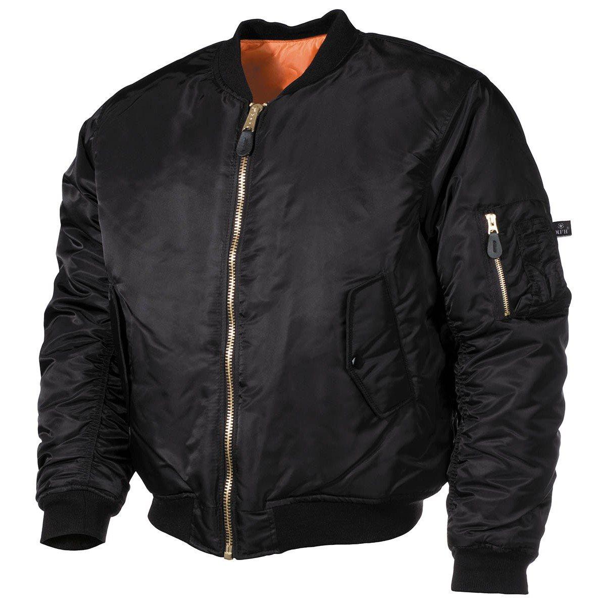 Jacket US MA1 BLACK MFH int. comp. 03552A L-11