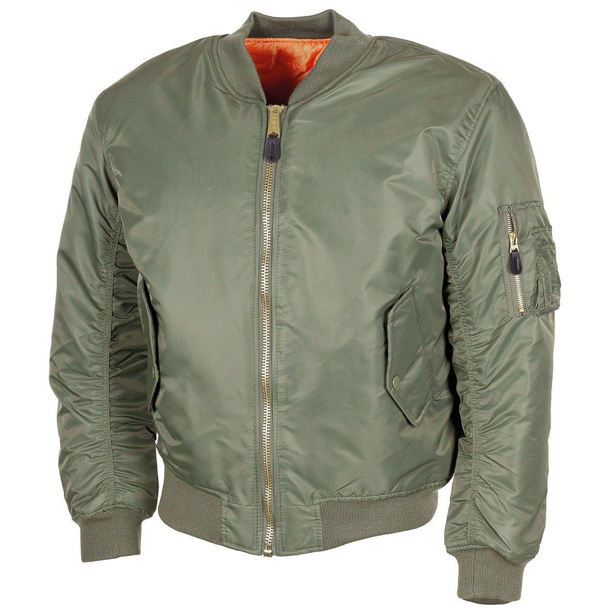 U.S. MA1 Jacket OLIVE MFH int. comp. 03552B L-11