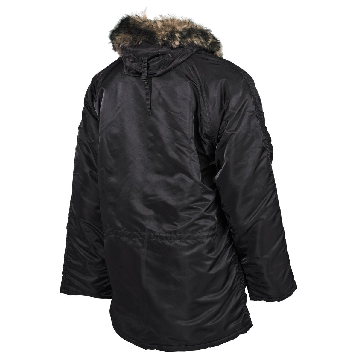 Jacket hooded N3B POLAR BLACK MFH int. comp. 03722A L-11