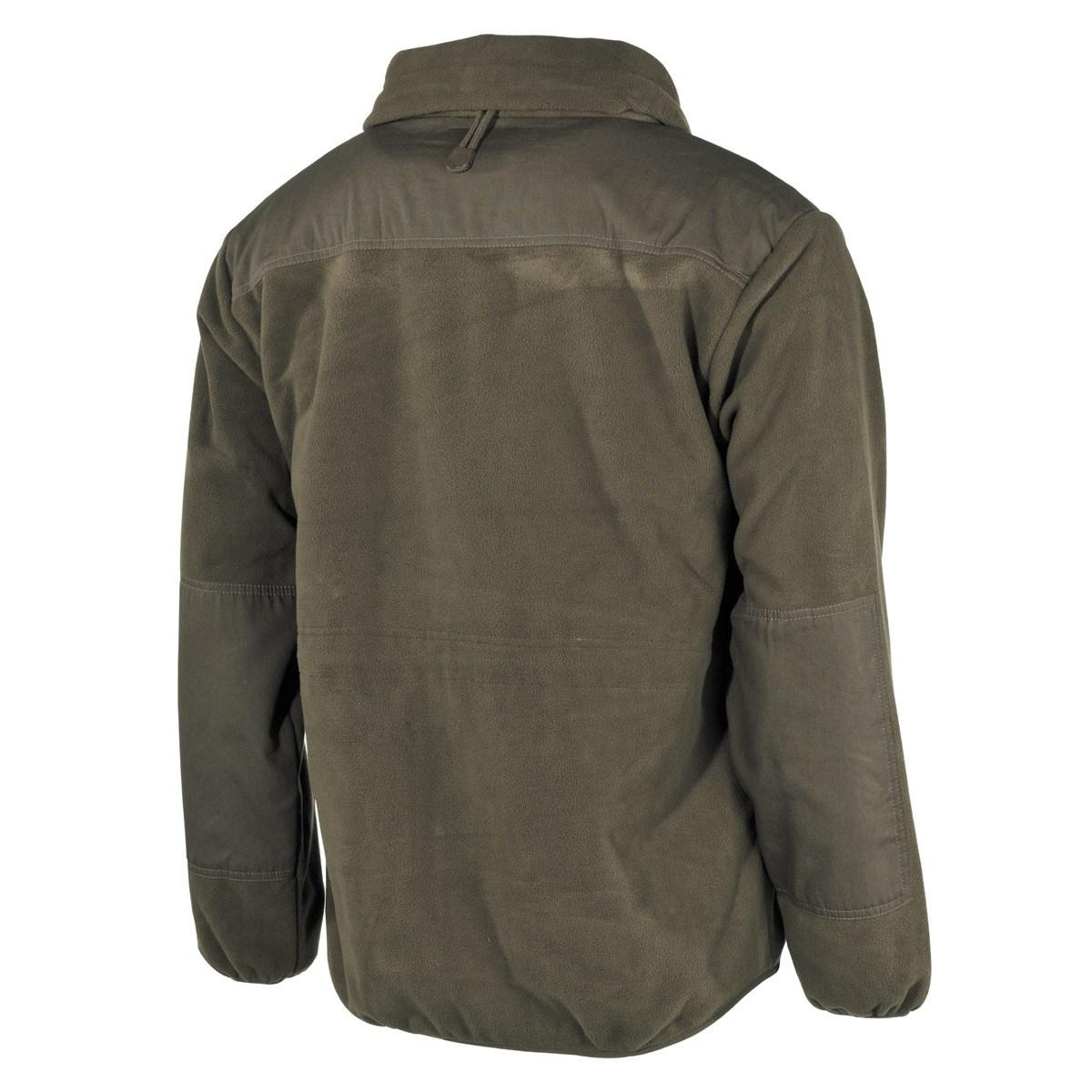 Fleece jacket Alpin OLIVE FOX Outdoor 03801B L-11