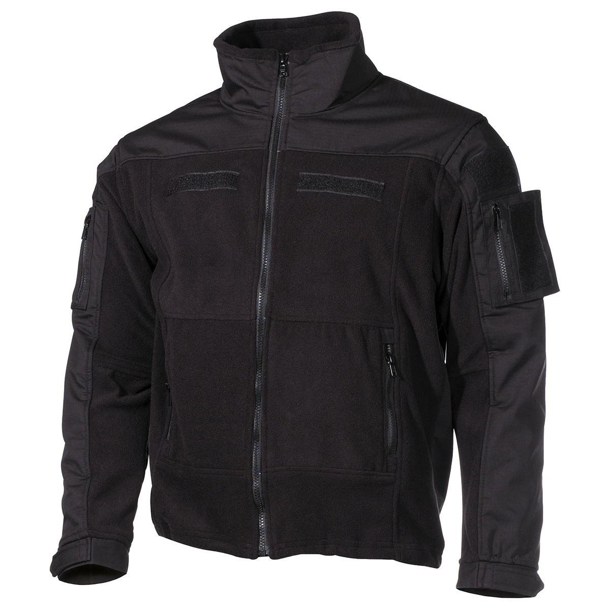 Tactical fleece jacket COMBAT BLACK MFH Defence 03811A L-11