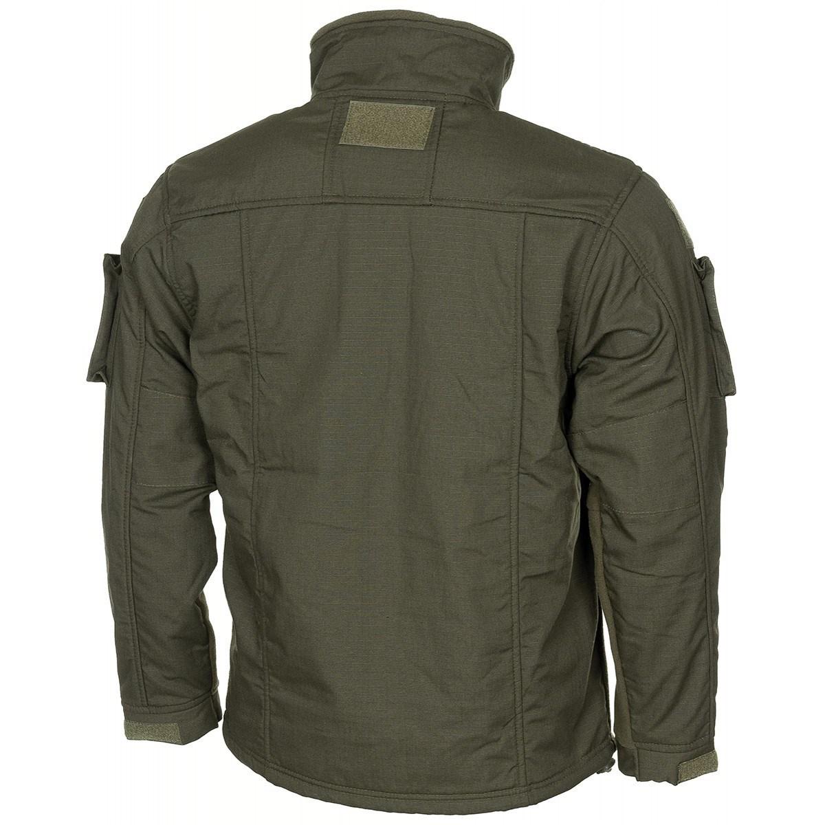 Tactical fleece jacket COMBAT OLIV MFH Defence 03811B L-11