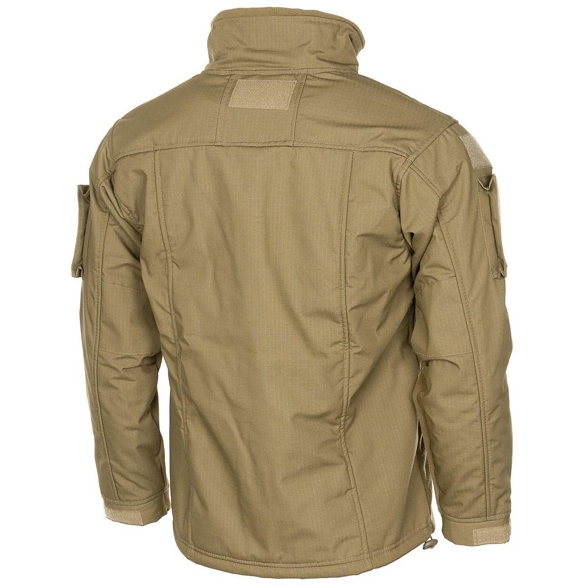 Tactical fleece jacket COMBAT COYOTE MFH Defence 03811R L-11