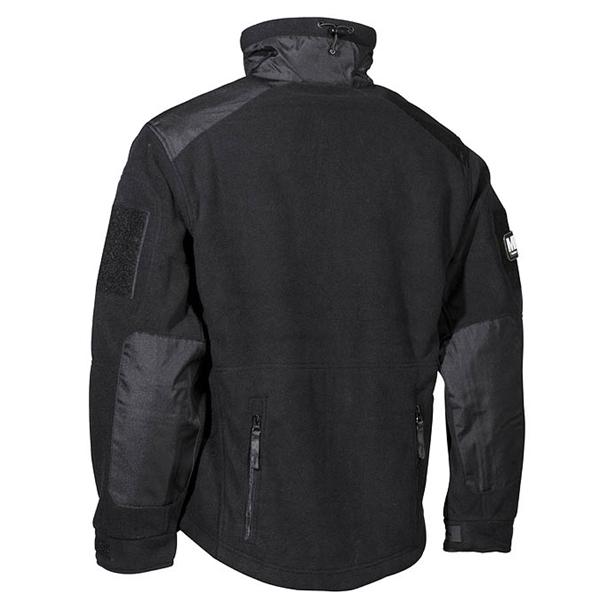 Jacket fleece Heavy-Strike BLACK MFH Defence 03841A L-11