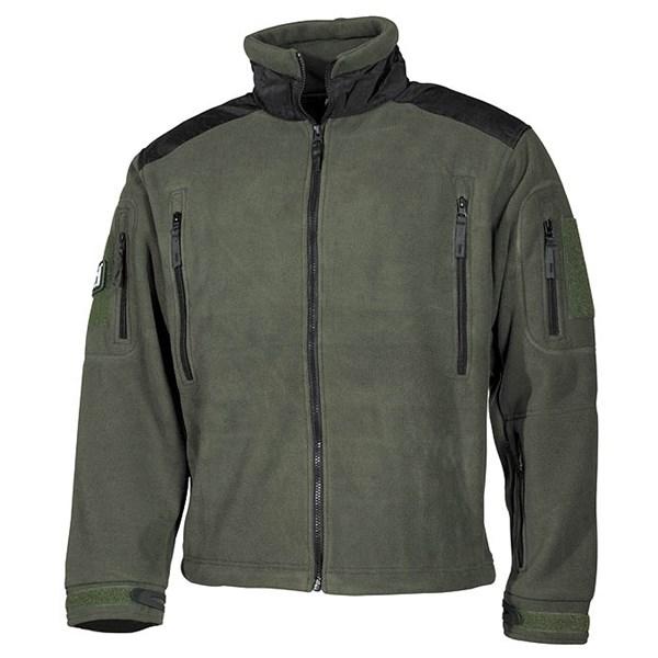 Jacket fleece Heavy-Strike OLIV MFH Defence 03841B L-11