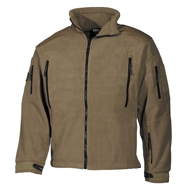 Jacket fleece Heavy-Strike COYOTE MFH Defence 03841R L-11
