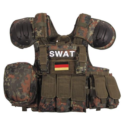 Tactical Combat Vest Flecktarn MFH int. comp. 04573V L-11