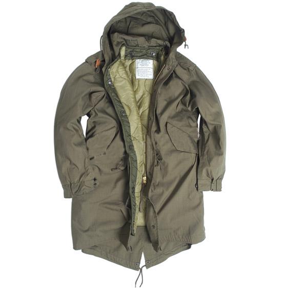 U.S. M65 jacket with liner FISHTAIL OLIVE TEESAR® 10122101 L-11