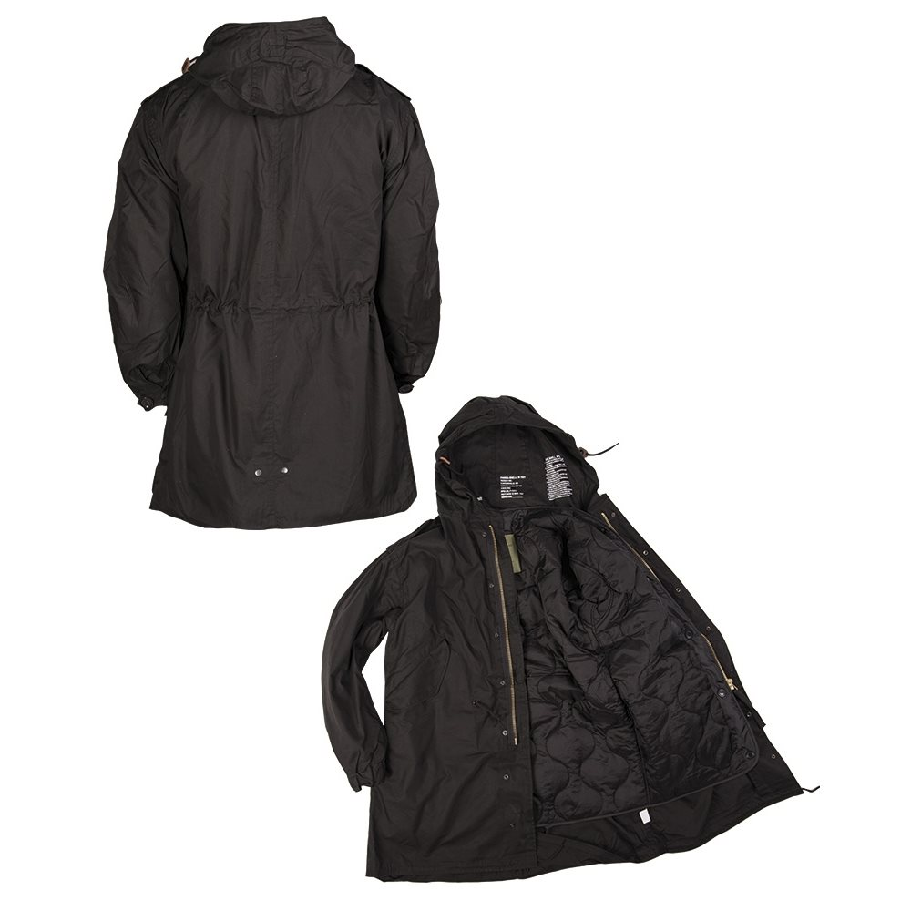 U.S. M65 jacket with liner FISHTAIL BLACK TEESAR® 10122102 L-11