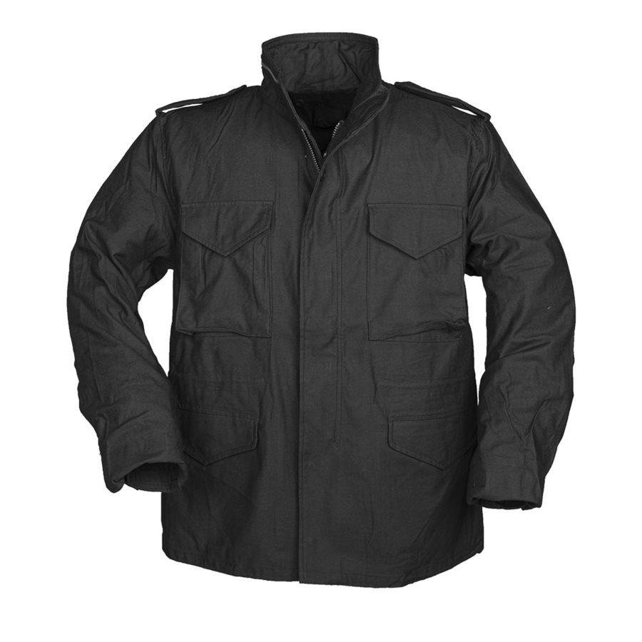 Jacket U.S. M65 NYCO TEESAR BLACK TEESAR® 10311002 L-11