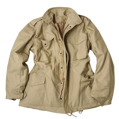 Jacket U.S. M65 NYCO TEESAR to insert KHAKI TEESAR® 10312004 L-11