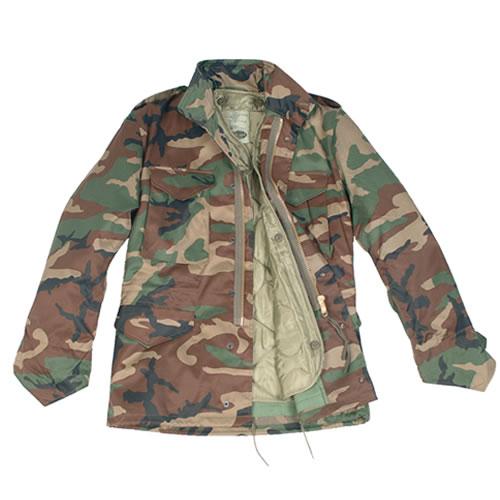 Jacket U.S. M65 imp. with insert WOODLAND MIL-TEC® 10315020 L-11