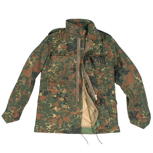 Jacket U.S. M65 imp. with insert Flecktarn MIL-TEC® 10315021 L-11