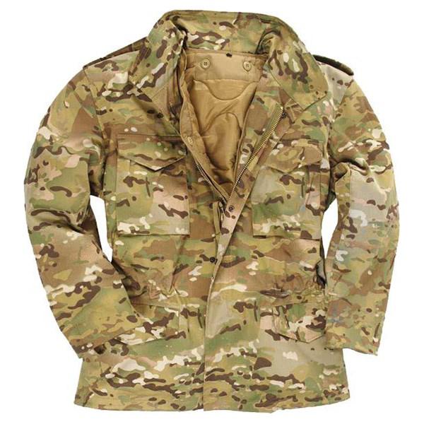 Jacket U.S. M65 imp. lined with MULTITARN MIL-TEC® 10315049 L-11