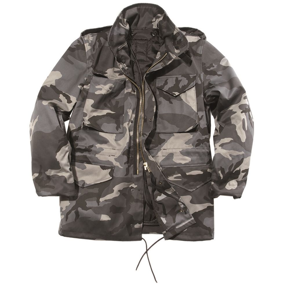 Jacket US M65 imp. with DARK CAMO MIL-TEC® 10315080 L-11
