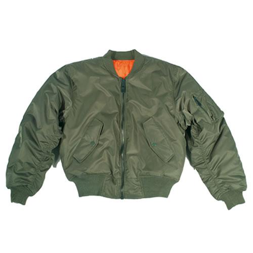 US MA1 Bomber Jacket OLIVE TEESAR® 10401001 L-11
