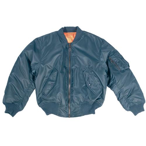 US MA1 Bomber Jacket BLUE TEESAR® 10401003 L-11