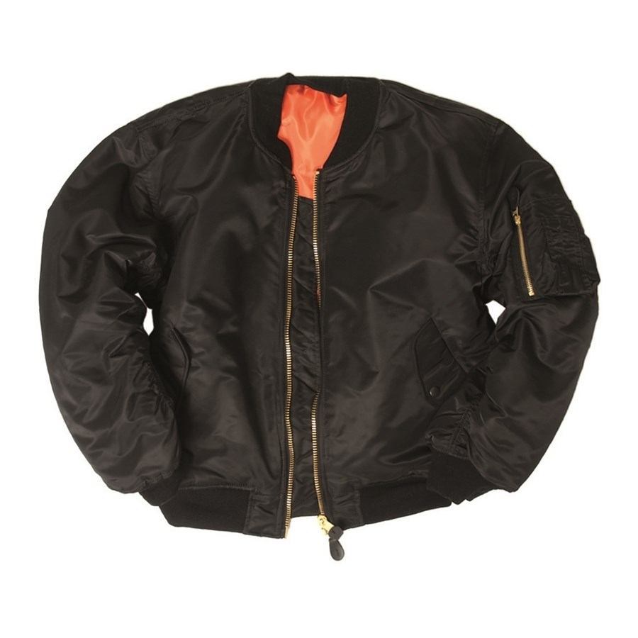 MA1 Bomber Jacket BASIC BLACK MIL-TEC® 10402002 L-11