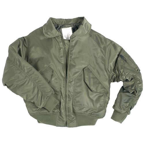 US CWU Pilot Jacket OLIVE TEESAR® 10404001 L-11