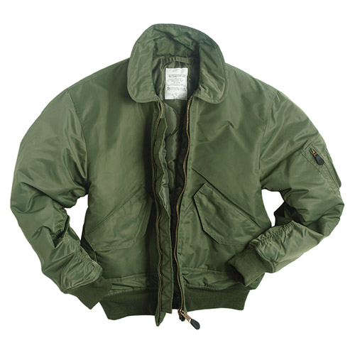 U.S. CWU BASIC Pilot jacket OLIVE MIL-TEC® 10404501 L-11