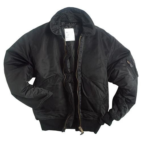 U.S. CWU BASIC Pilot jacket BLACK MIL-TEC® 10404502 L-11