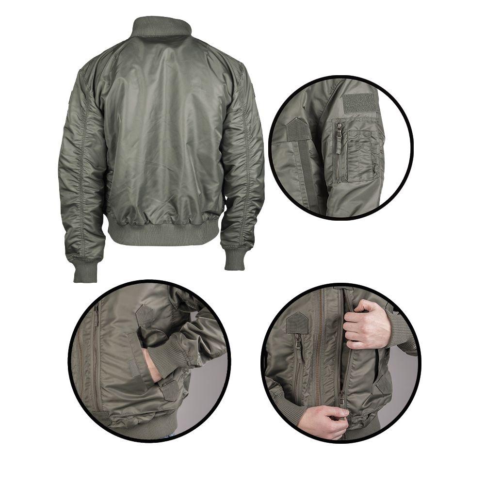 Pilot Jacket US TACTICAL OLIVE MIL-TEC® 10404601 L-11
