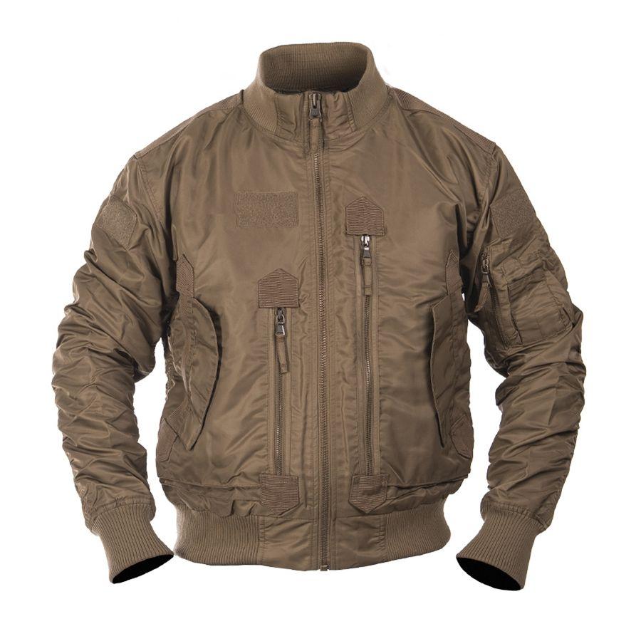 Pilot Jacket US TACTICAL COYOTE MIL-TEC® 10404619 L-11