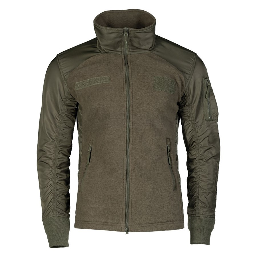 USAF RANGER GREEN fleece jacket MIL-TEC® 10430012 L-11