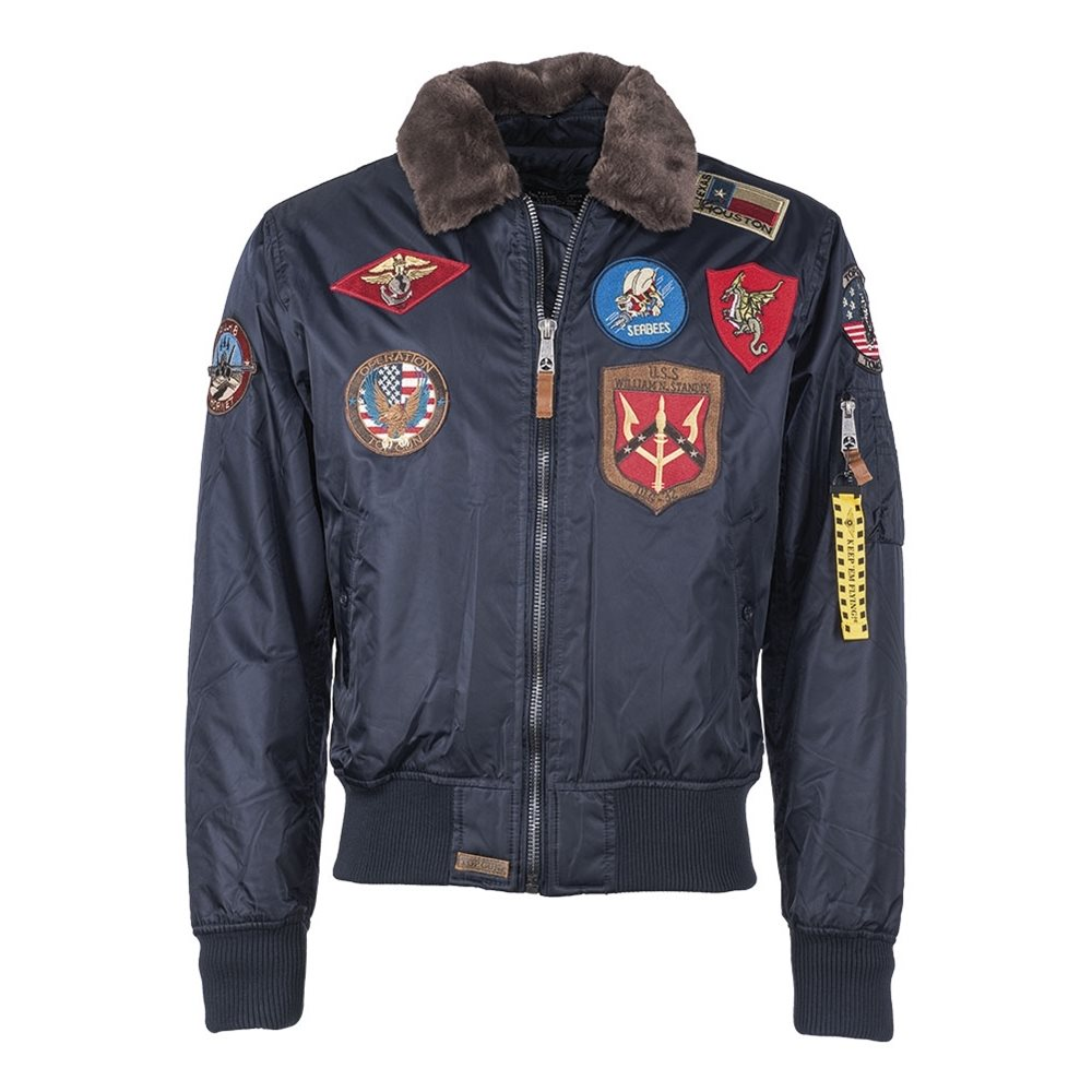 Top Gun Flight Jacket PILOT BLUE MIL-TEC® 10430205 L-11
