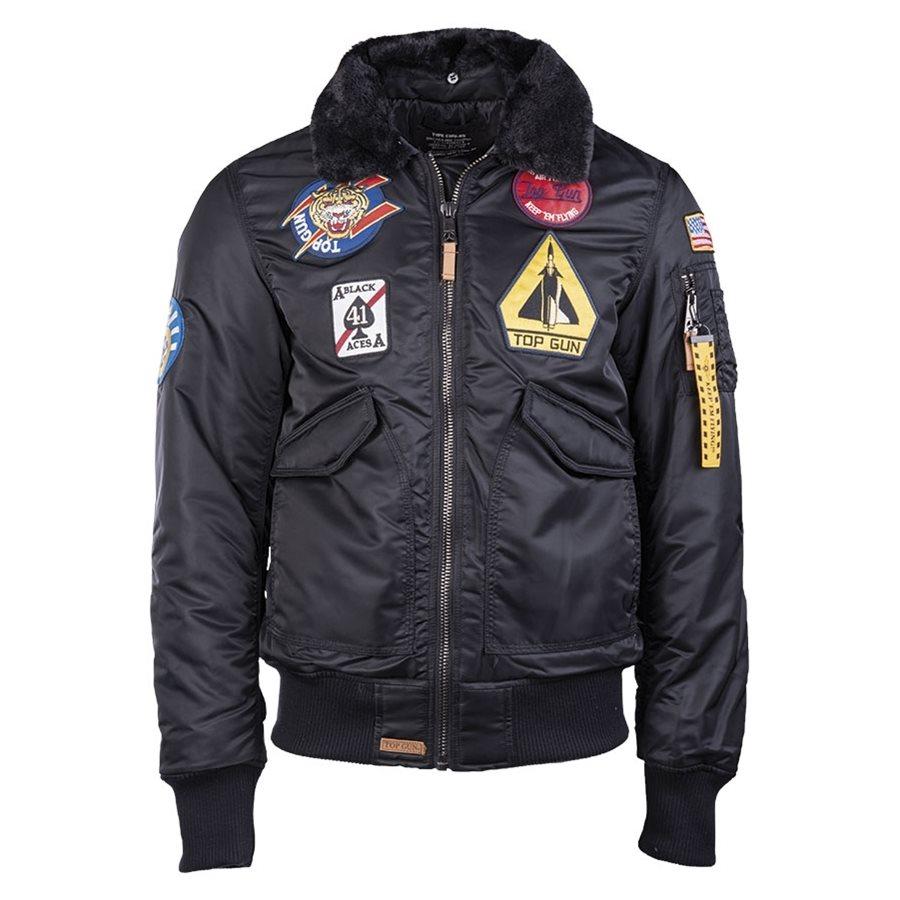Aviation jacket TOP GUN FLYING MIL-TEC® 10430302 L-11