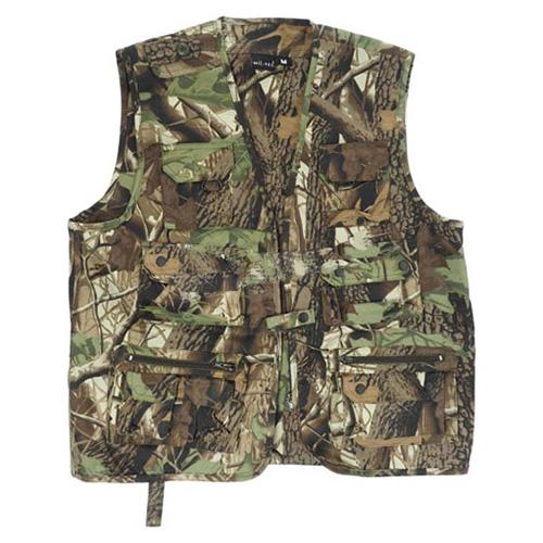 vest JAGD hunting or fishing HUNTING CAMO MIL-TEC® 10701068 L-11