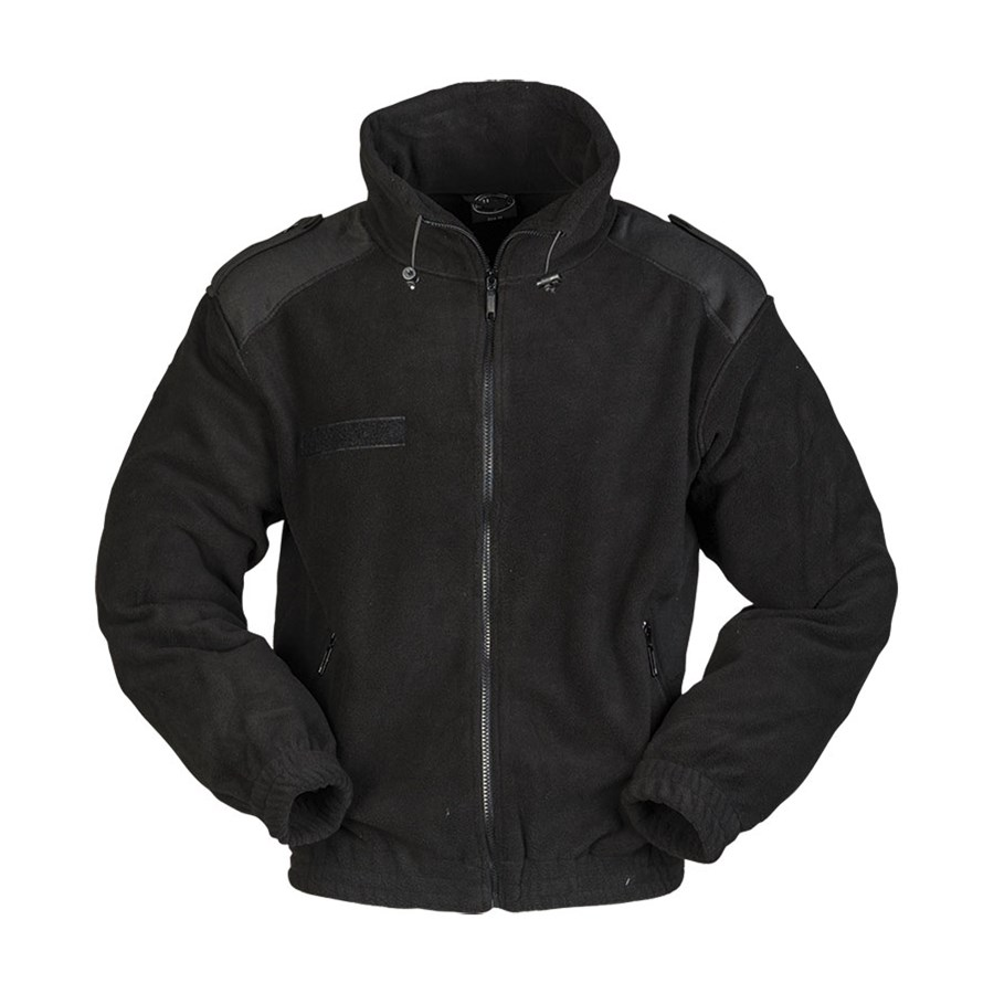 French Style Jacket FLEECE BLACK MIL-TEC® 10856002 L-11