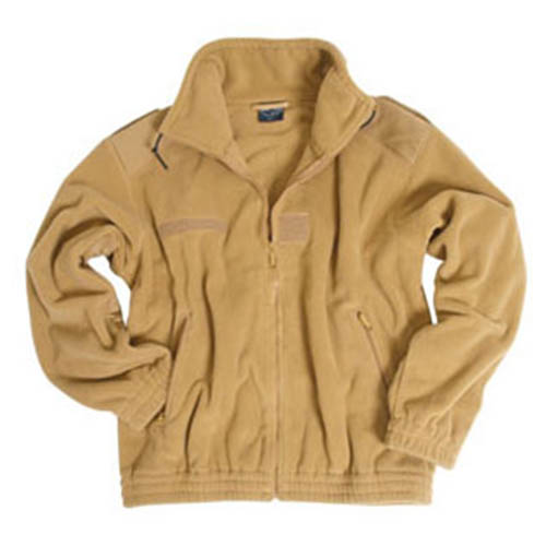 Jacket FLEECE French typ COYOTE MIL-TEC® 10856005 L-11