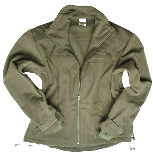 WINDPROOF fleece jacket OLIVE MIL-TEC® 10856101 L-11