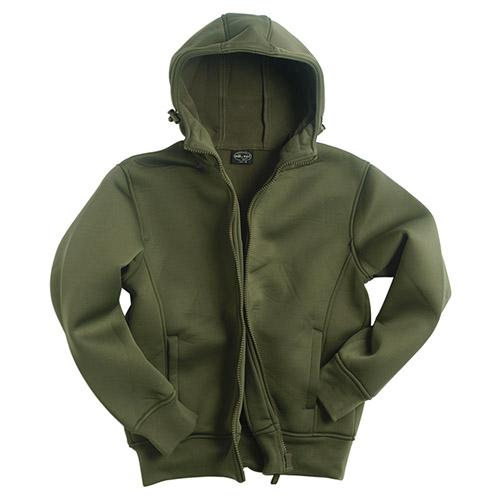 JCKT with fleece lining OLIVE MIL-TEC® 10860001 L-11