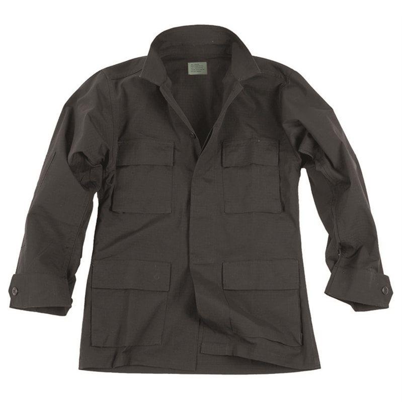 Shirt U.S. type rip-stop BDU BLACK TEESAR® 11833002 L-11