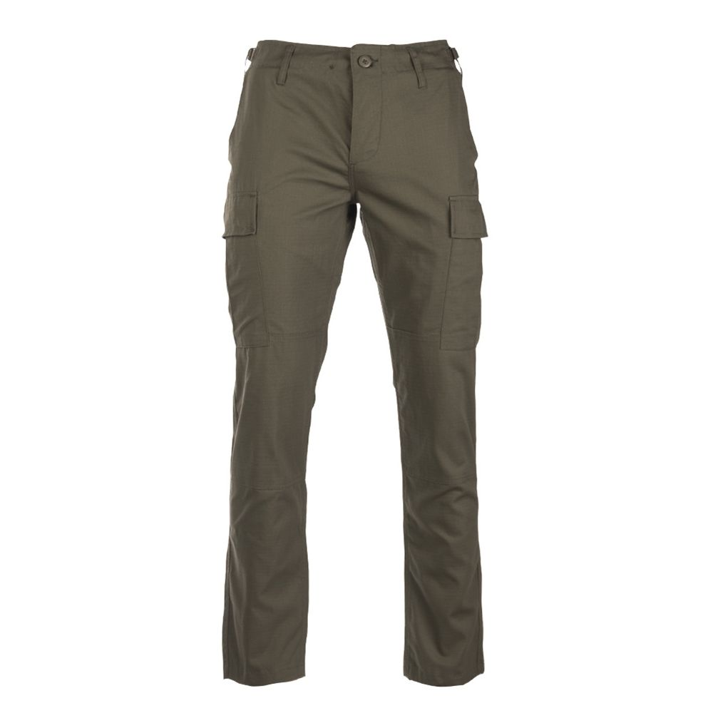 Pants U.S. BDU SLIM FIT field rip-stop OLIVE TEESAR® 11853101 L-11