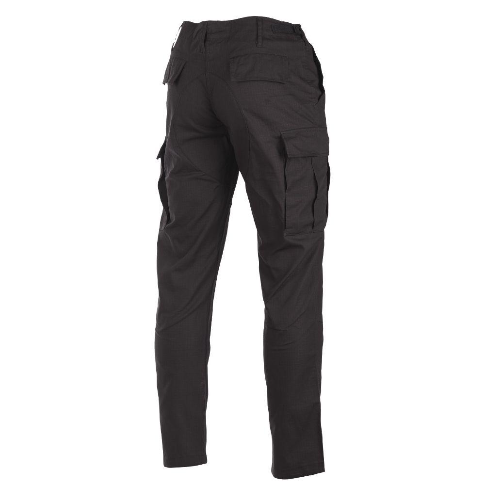 Pants U.S. BDU SLIM FIT field rip-stop BLACK TEESAR® 11853102 L-11