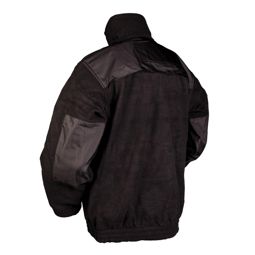 SECURITY fleece jacket BLACK MIL-TEC® 12056002 L-11