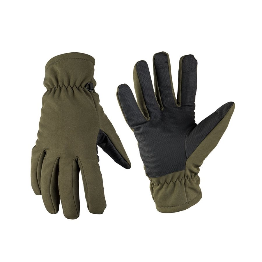 Gloves SOFTSHELL THINSULATE™ OLIVE DRAB MIL-TEC® 12521301 L-11