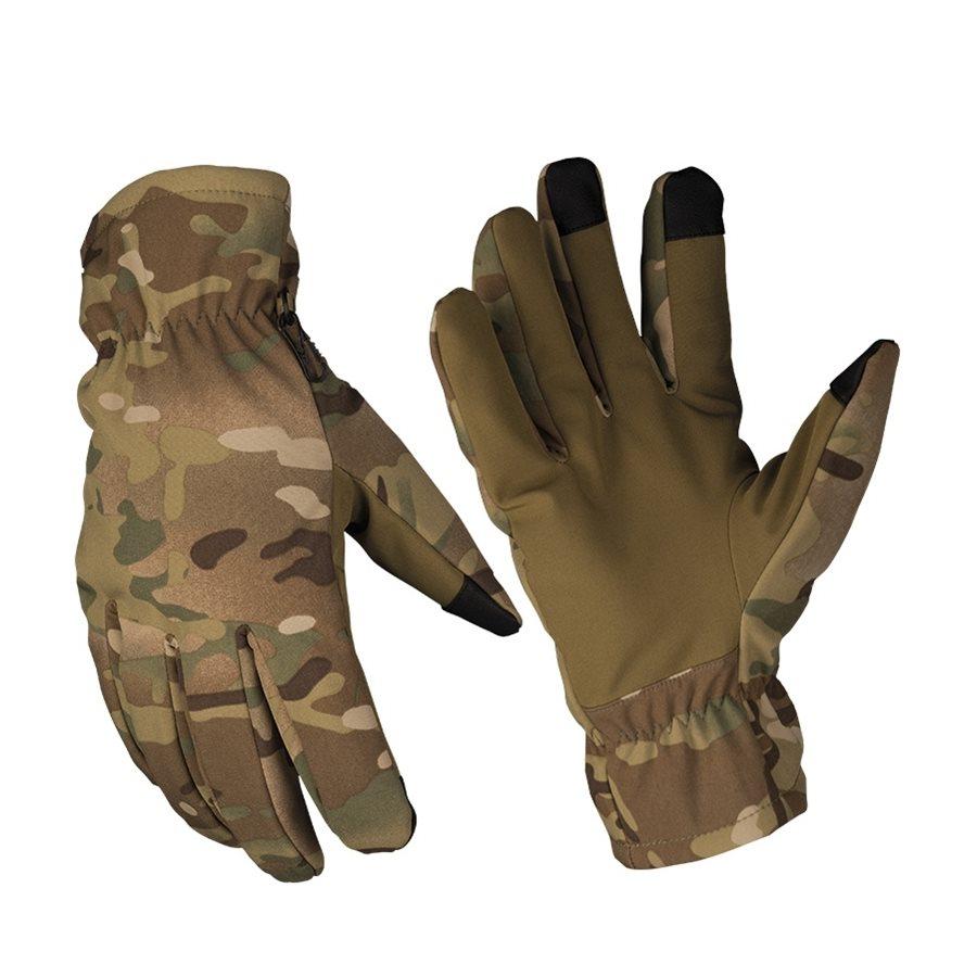 Gloves SOFTSHELL THINSULATE™ MULTITARN® MIL-TEC® 12521349 L-11