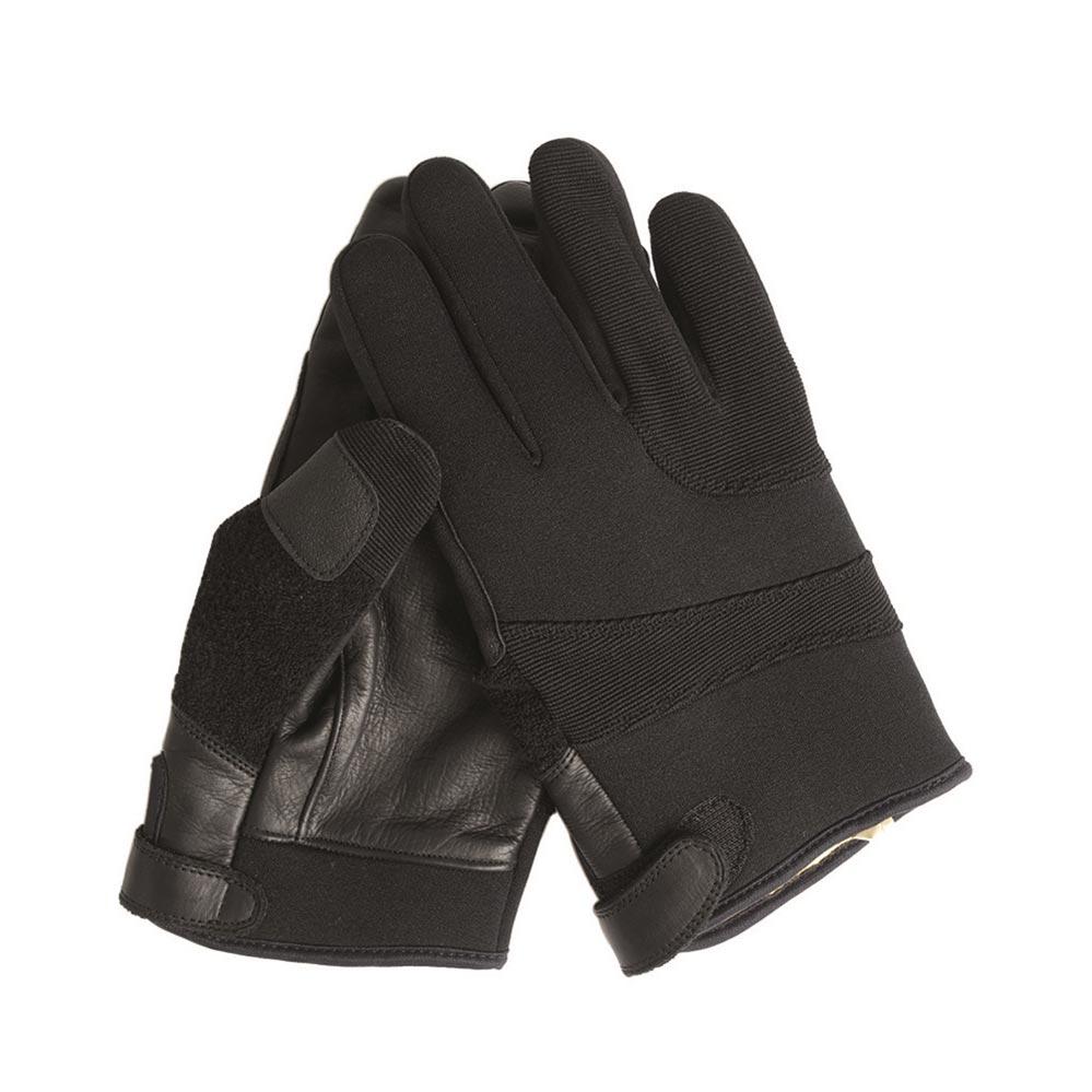 Gloves NEOPREN/ARAMID  BLACK MIL-TEC® 12524002 L-11