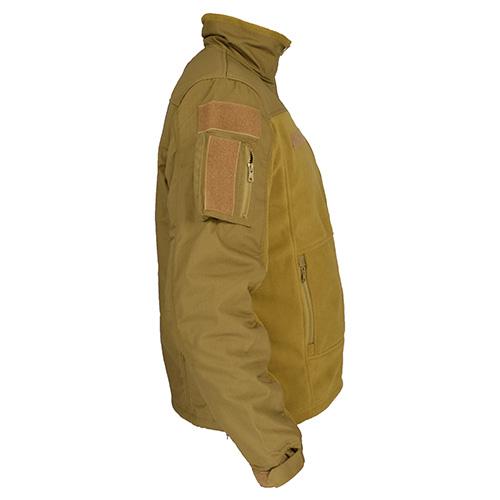 COMBAT Fleece Jacket COYOTE FOSTEX 131365CO L-11
