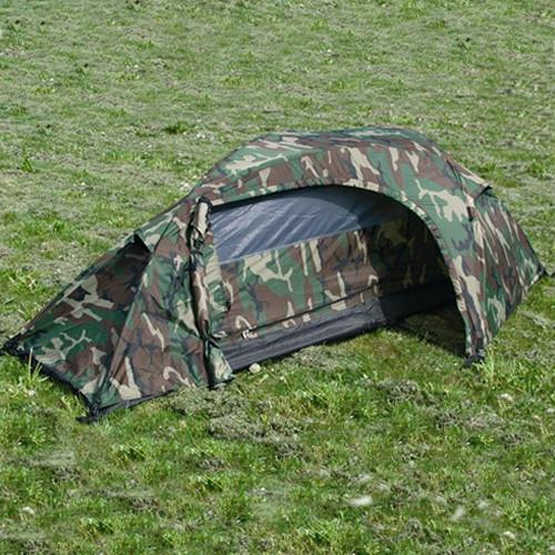 RECON tent for 1 person WOODLAND MIL-TEC® 14201020 L-11