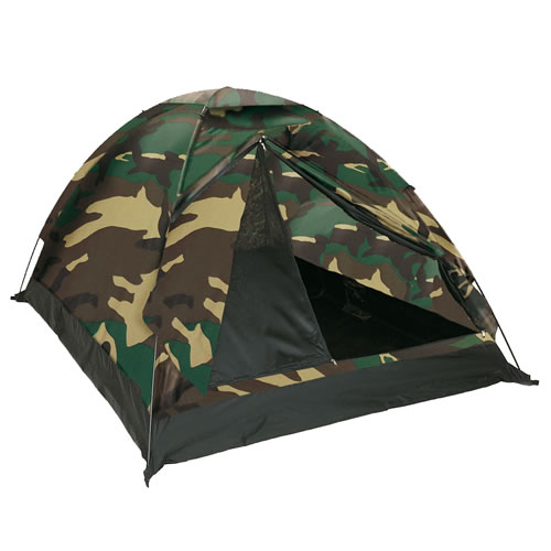 Tent IGLU STANDARD for 3 people WOODLAND MIL-TEC® 14215020 L-11