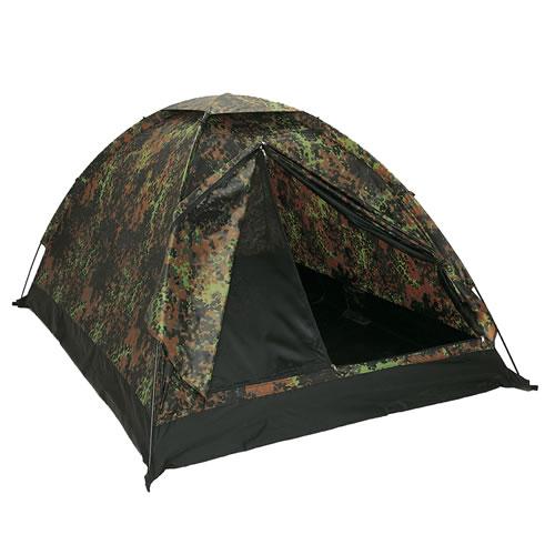 Tent IGLU STANDARD for 3 people Flecktarn MIL-TEC® 14215021 L-11