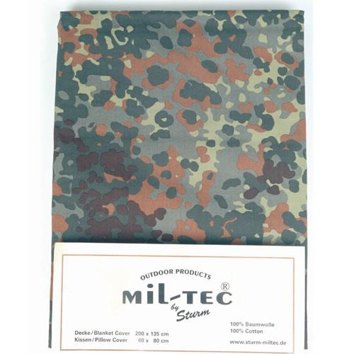 Cotton Bedding set for single bed Flecktarn MIL-TEC® 14410021 L-11