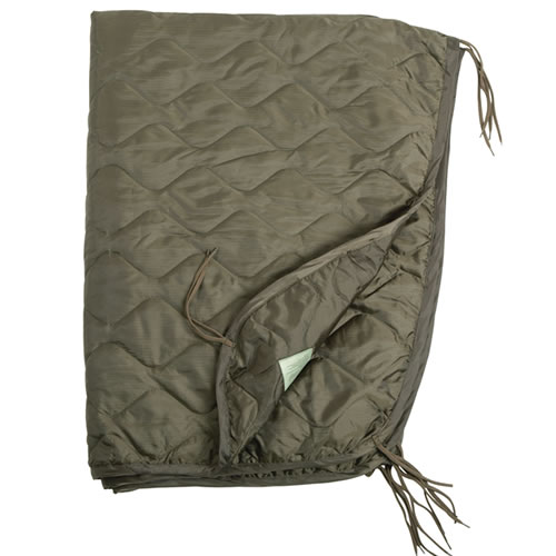 U.S. poncho liner with a case OLIVE MIL-TEC® 14425001 L-11
