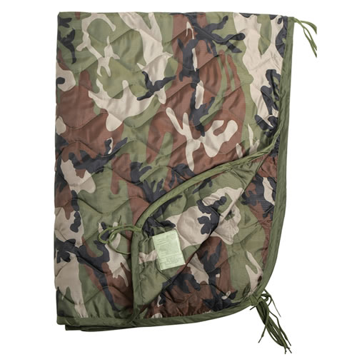 U.S. poncho liner with a case CCE MIL-TEC® 14425024 L-11