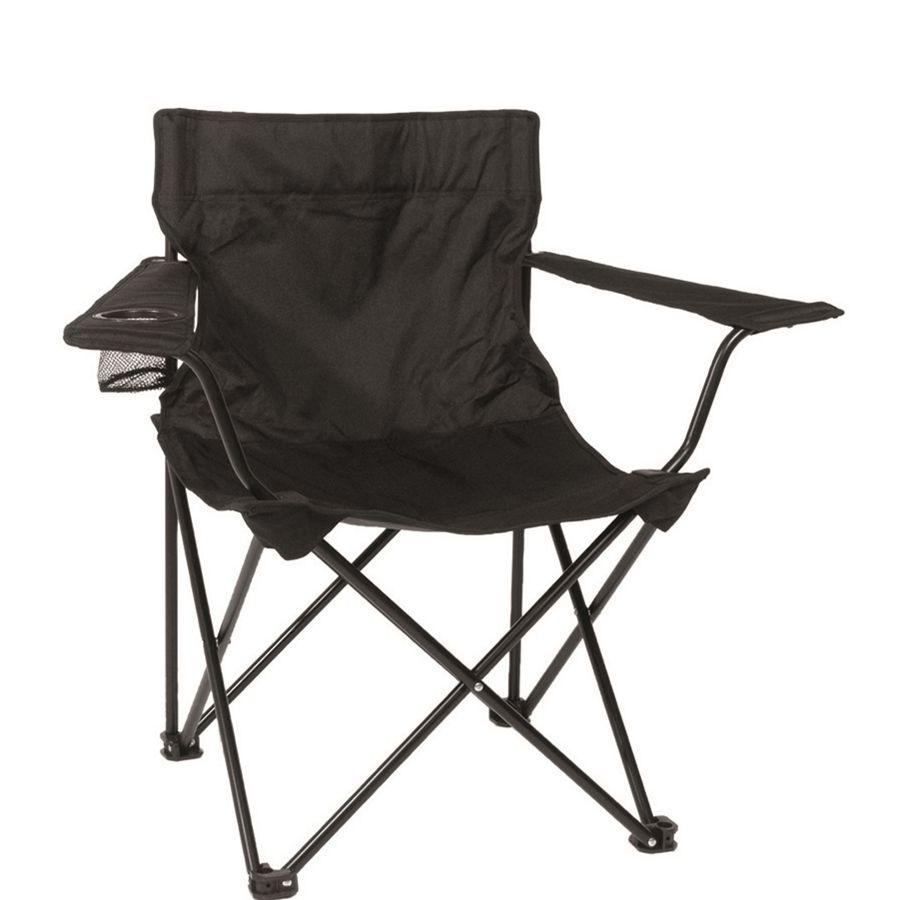 Folding chair RELAX BLACK MIL-TEC® 14445002 L-11